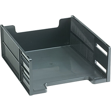 Rubbermaid® High-Capacity Front-Loading Letter Tray, Black