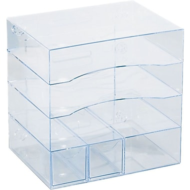 Optimizers™ Clear 4-Way Organizer