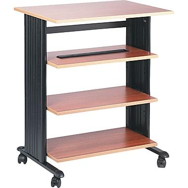 Safco® Four Level Printer Stand, Oak