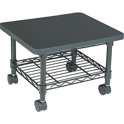 Safco Under Desk Printer Stand Black Staples