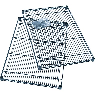 Safco® Industrial Wire Shelving, Additional Shelving, 24