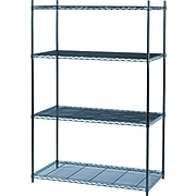 """Safco® Industrial Wire Shelving, Starter Kit, 48Wx24""""D"""