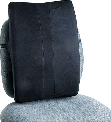 Safco® Remedease® Full Height High-Density Foam Backrest For Chair, Black, 20