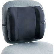 Remedease High-Profile Back Support, Black (71491)