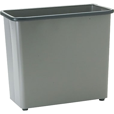 Safco Recycled Square Fire-Safe Wastebasket