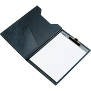 "Samsill Value Series Padholders With Clip, Black, 8 1/2"" x 11"""