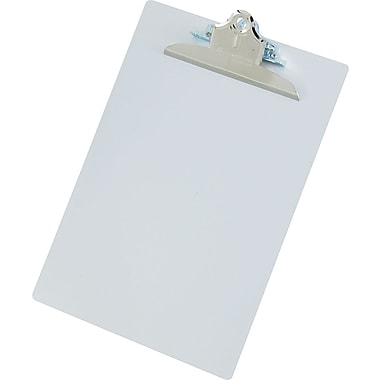 Saunders Aluminum Clipboard with Conventional Clip, Letter Size