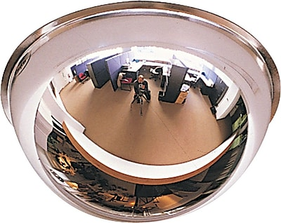 Full Dome Mirror, 18, For Areas up to 300 sq. ft.