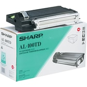 Sharp Black Toner/Developer Cartridge (AL-100TD), High Yield