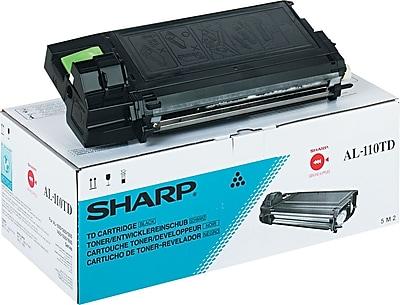 Sharp Copier Cartridge, AL-110TD, Black