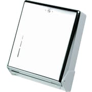 San Jamar® True Fold C-Fold/Multifold Towel Dispenser, Metal, Chrome (T1905XC)