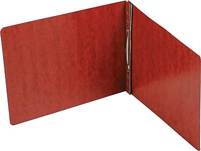 Smead Hinge Pressboard Binder, Red, 11