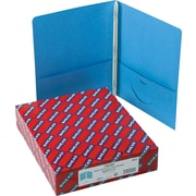 """Smead Two-Pocket Portfolios with Tang Fasteners, Blue, Letter, , 8 1/2"""" x 11"""", 1/2"""" Capacity, 25/Bx"""