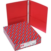 "Smead Two-Pocket Portfolios with Tang Fasteners, Red, Letter, , 8 1/2"" x 11"", 1/2"" Capacity, 25/Bx"
