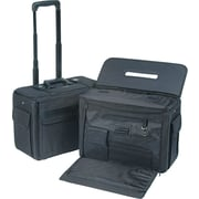 "Stebco Ballistic Catalog/Computer Case on Wheels, Black, 18""W x 8""D x 13""H"