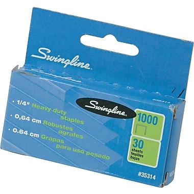 Swingline® Heavy-Duty Staples, 1/4
