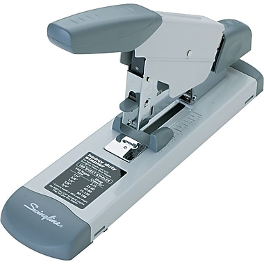 Swingline® High Capacity Heavy Duty Stapler, Fastening Capacity 160 Sheets/20 lb., Platinum (S7039002)