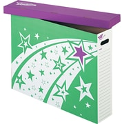 """TREND® File 'n Save System® Storage Box, For 30 3/4"""" x 23"""", Bright Stars Design, Each (T1022)"""