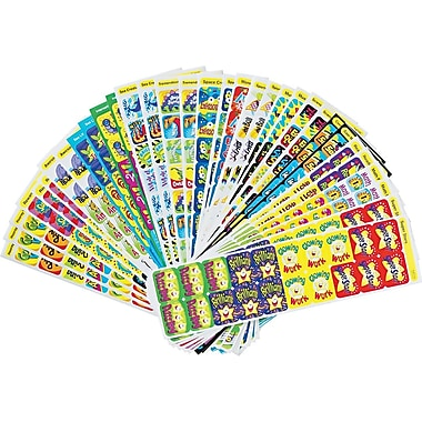 TREND® Applause STICKERS® Variety Pack, Great Rewards, Assorted, 700/Pack (T47910)