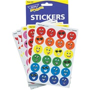 """Trend Stinky Stickers Jumbo Variety Pack, Scented Smiles & Stars, 3/4"""", 648"""