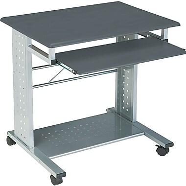 Tiffany Industries Empire Mobile Computer Desk, Gray Finish