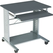 Tiffany Industries Empire Mobile Computer Desk, Gray Finish