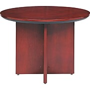 """Mayline® Corsica Collection In Sierra Cherry, 42"""" Round Table"""