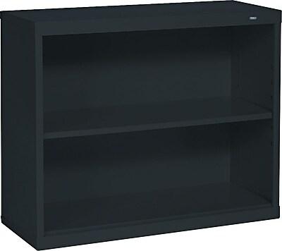 Tennsco® Metal Bookcases in Black, 28