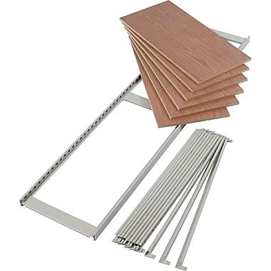 Tennsco Regal Boltless Steel Shelving Add-On Set, 6 Shelves, TwoPosts,Sand, 76