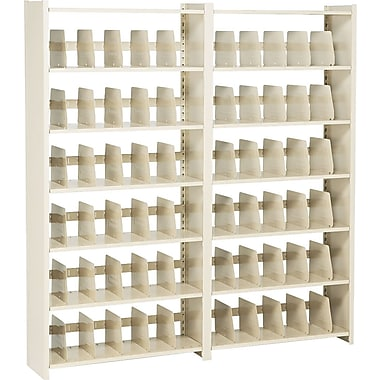 Add-on Unit for Snap-Together Open Shelving, 6-Shelves, 76