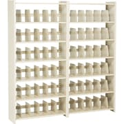"Add-on Unit for Snap-Together Open Shelving, 6-Shelves, 76""H x 36""W"