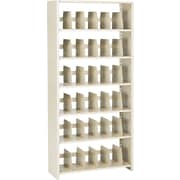 "Snap-Together Open Shelving Units, Starter Set, 6-Shelves, 76""H x 36""W"