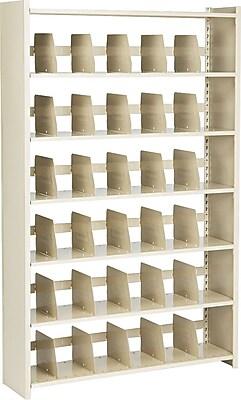 Snap-Together Open Shelving Units, Starter Set, 6-Shelves, 76