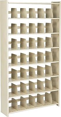 Snap-Together Open Shelving Units, Starter Set, 7-Shelves, 88