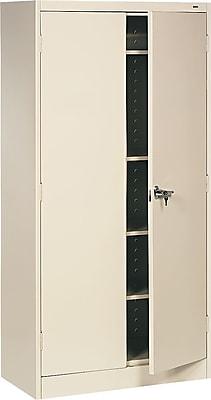 Tennsco® Standard Steel Storage Cabinet, Non-Assembled, 72Hx36Wx18D