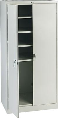 Tennsco Steel Storage Cabinet, Light Gray, 78
