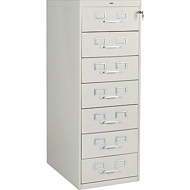 Tennsco 7 Drawer Vertical File, Putty/Beige,Specialty, 19''W (110249)