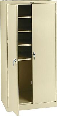 Tennsco Steel Storage Cabinet, Putty, 78