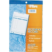 Tops® Receiving Record Book