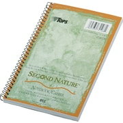 "TOPS® Second Nature® Wirebound Notebook, 8"" x 5"", Narrow Ruling, 80 sheets"
