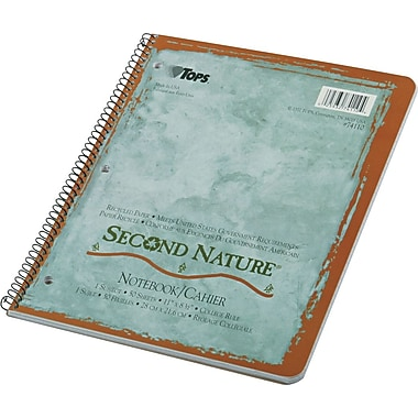 TOPS® Second Nature® Wirebound Notebook, 11