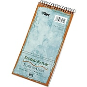 """TOPS Second Nature Reporter's Notebook, 4"""" x 8"""", Gregg Ruled, Assorted Colors, 70 Sheets/Pad (74130)"""