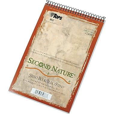 TOPS® Second Nature Wirebound Steno Pad, 6