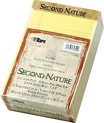 TOPS® Second Nature Notepad, 5