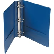 "Universal Economy 2"" 3-Ring Non-View Binder, Royal Blue (UNV34402)"