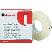 "Invisible Tape, 1/2"" x 1296"", 1 Roll"