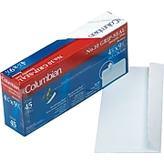 """Columbian Redi-Strip™ Redi-Strip™ Business #10 Envelopes, 4 1/8"""" x 9 1/2"""", White, 45/Bx (WEVCO142)"""