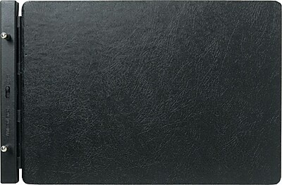 Wilson Jones® Raven® Vinyl-Guarded® Post Binder, 11 x 17, Non-View, Each (W241-66NA)