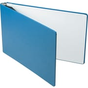 "1"" Canvas-Look 11"" x 17"" Binder, Blue"