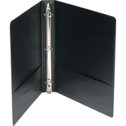 Wilson Jones 368 Basic Round Ring Binder, 1 inch , Black by